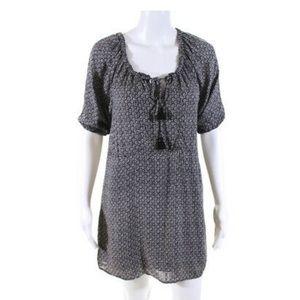Talula floral boat neck shift dress